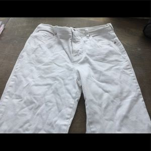 Gloria Vanderbilt Women's White Jeans Size 8